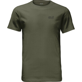 Jack Wolfskin Essential T-Shirt Men woodland green